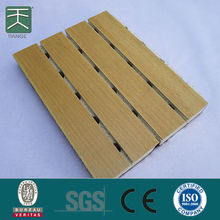 Sound Absorption Carved Pattern Acoustical Wood Wall Panel