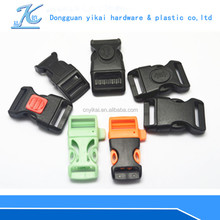 Popular buckle for quick release,contoured side release buckle,Plastic buckle for bracelet