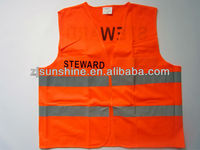 industrial safety reflective vest with logo