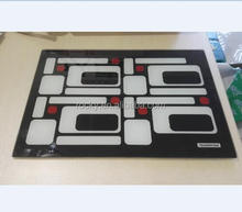 clear tempered glass cutting board