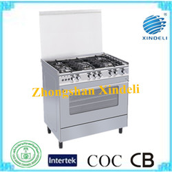 aluminum pipe gas power cooking appliance gas range