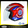 ABS shiny shell DOT open face motorcross helmet for motor helmet
