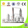 Distill crude oil to diesel machine from waste tire and plastic
