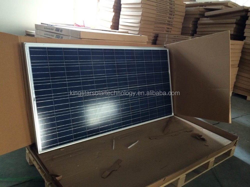 China PV manufacturer poly 280w 290w 300w solar panel TUV CE for solar power system home China suppliers