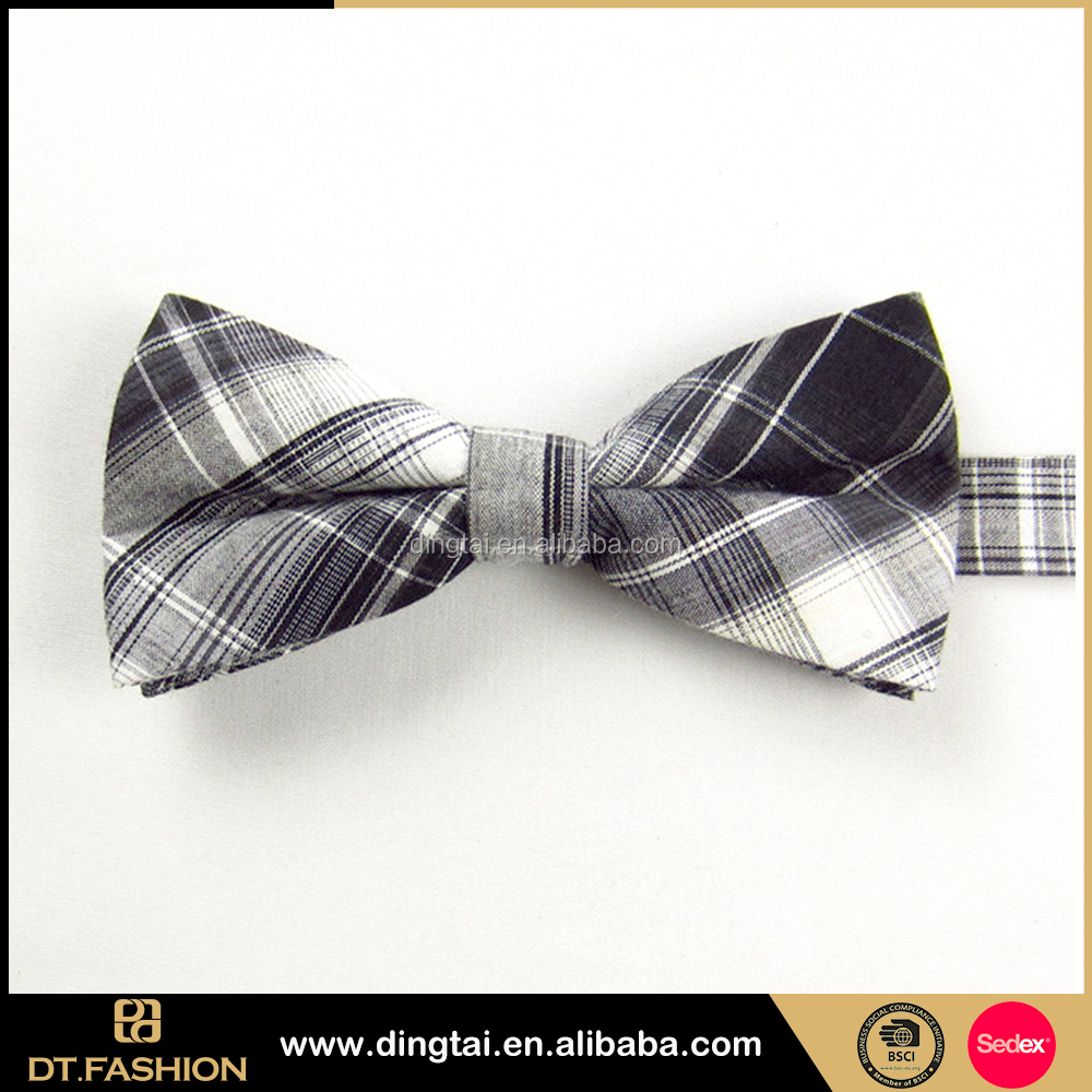 2016 gentleman black bow tie match french suits for men