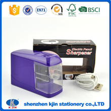 2017 Eco-friendly electric pencil sharpener with OEM logo
