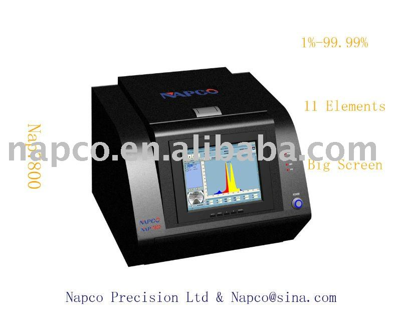 Napco Gold testing machine/Gold tester with Parameter