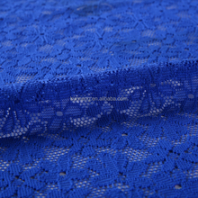 most comfortable royal blue embroidered vivi lace fabric