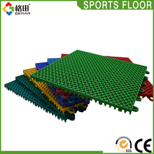 Guangzhou colored durable outdoor synthetic basketball court,sport tiles basketball,non-slip moveable basketball floor covering
