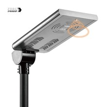 ZDEG patented product 40W all in one solar street light for garden residential area
