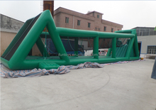 Commercial inflatable sports Inflatable zipline /new games bounce zip lines for kids / inflatable zip line slide portable