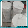 Wholesales decoration beautiful carrara white marble polished plates marble+serving+tray