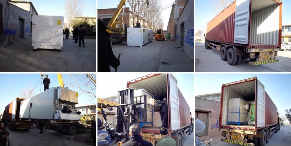 High frequency vacuum acacia sawn timber drying kiln