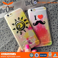 Custom printing pc silicone phone cases Cell Phone Accessory for iPhone 6