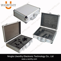 best quality cheapest price hard aluminum tool carrying case, custom aluminum flight case, small aluminum boxes