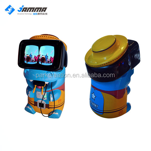 2017 hot sale KiddIe VR Machine with Coin Operated system Game Machine