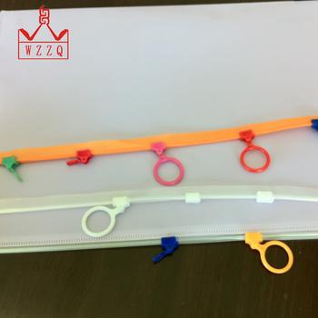 Hot sale wholesale multiple optional plastic slider zipper for bag