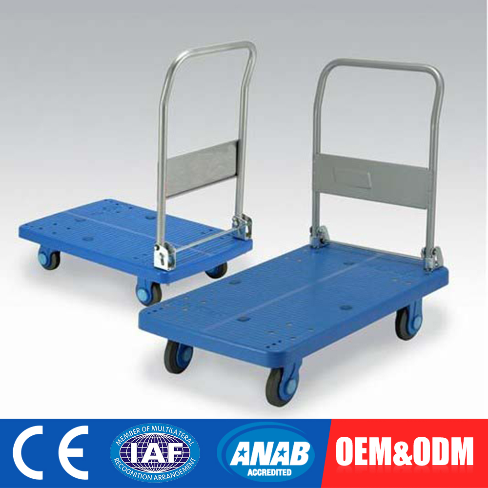 Customized OEM Display Flower Folding Cleaning Facial Trolley Cart