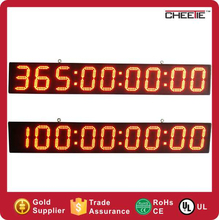 Giant Remote Countdown Timer Wall Mounted 6 Inch 9 Digit LED Counter