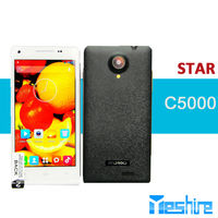 Cheapest China Star C5000 MTK6572 1.2GHZ Android 4.2.2 dual sim 5.0MP back handphone