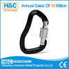 Aluminum Bent Gate Rock Climbing Carabiner with automatic lock HC-A005