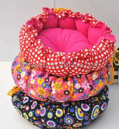 Flower Printing Plush Pet Bed/bedding/bed cover Popular Products In USA