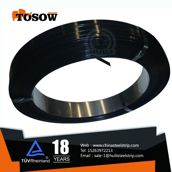 Black And Wax Steel Strapping Hollow Brick Q235