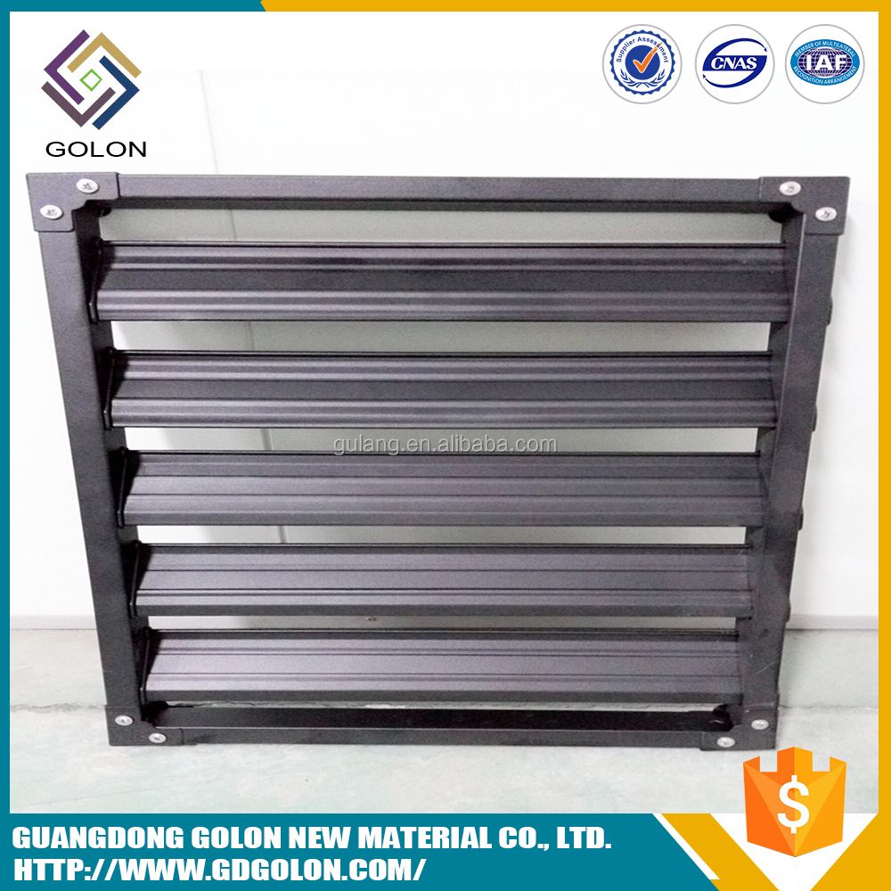 Customized Decoration aluminum shutter window slat