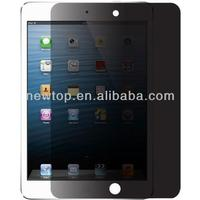Manufacturer for Ipad mini privacy screen protector film