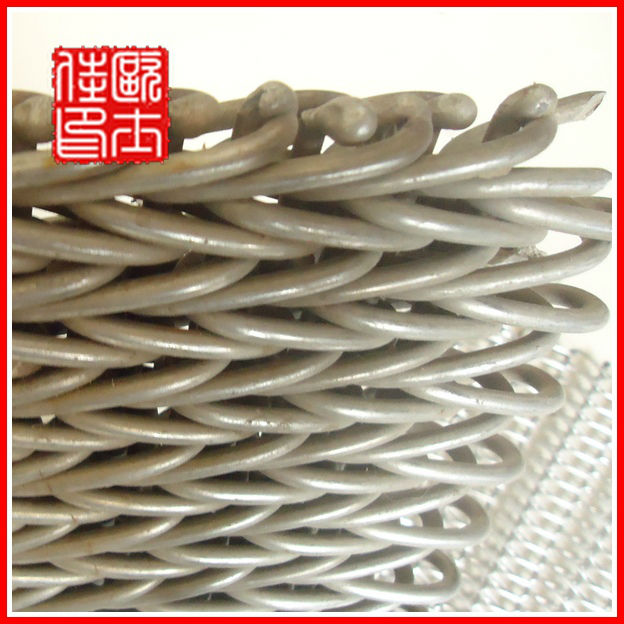 High temperature stainless steel conveyor belt mesh(weldly use high quality)