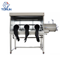 2018 Standard Three Gloves Stainless Steel Glove Box with Purification System for Surgical and Medical Devices