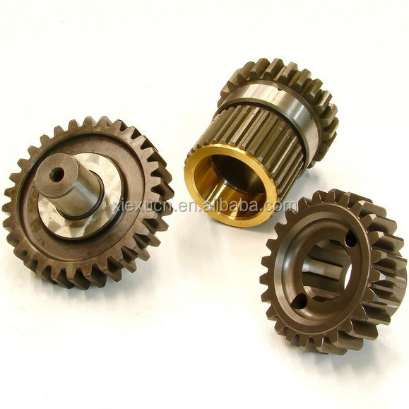 Custom straight cut drop gear set , straight transmission gear