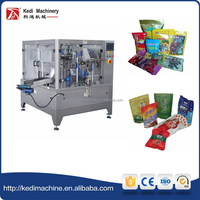 Preformed Pouch Rotary Packing Machine for Food