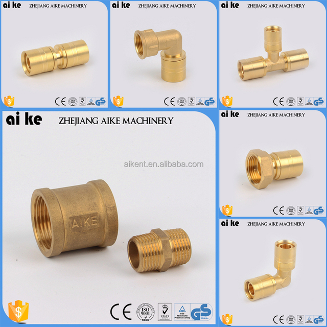 card sleeve union tee coupling elbow brass compression fittings coupling pipe fitting copper pipe nickel plating fittings