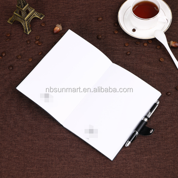 High Quality and Custom PU Leather notebook