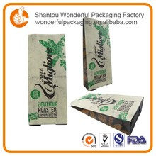 Food resealable bags vacuum packing with clear front cambodia rice bags