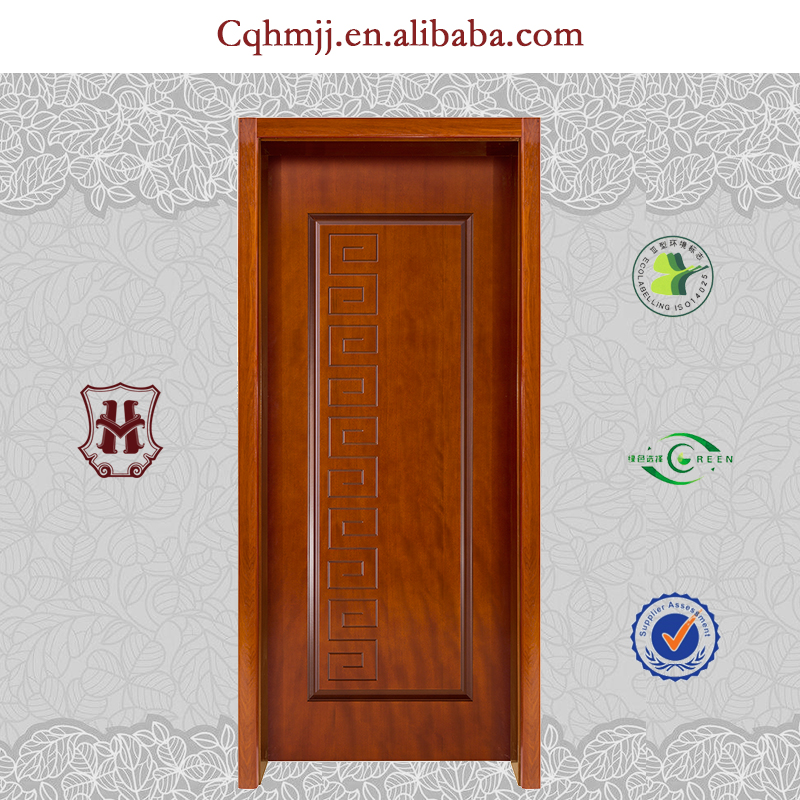 Interior curved wooden door with Chinese style