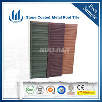 NUORAN synthetic spanish roof tile in good price different colors high quality