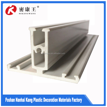 Rail and transport use rubber window molding