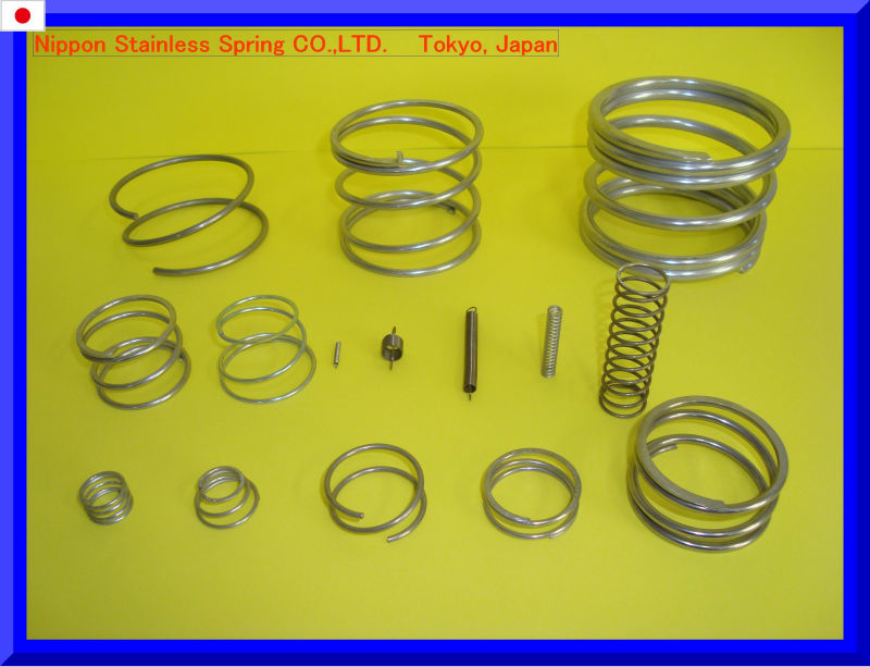 Specialty materials compression coil spring heat resistance with inconel for motorbike made in Japan