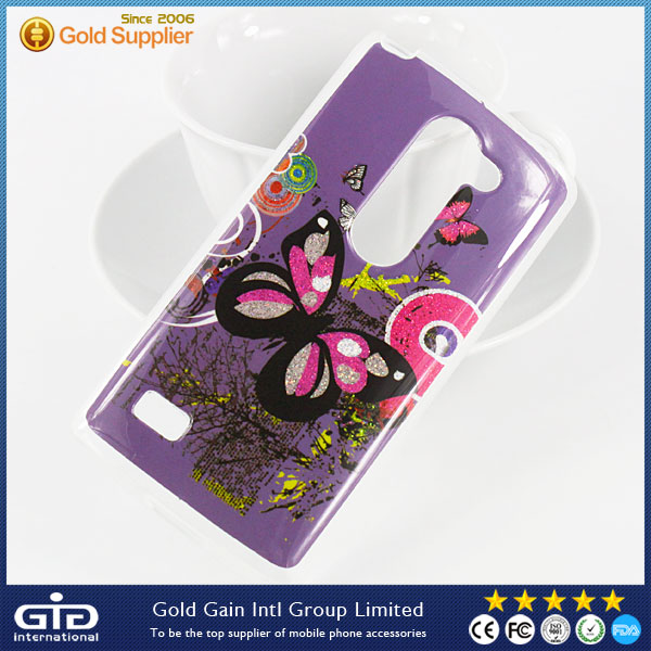 Glitter TPU Case with Images for LG Leon H340N H326