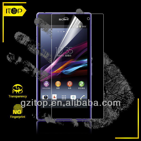 Mobile phone screen protector accessory for Sony xperia Z1 tablet pc any model OEM ODM