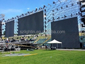 Scrolling Advertising Outdoor LED Board Commercial Video LED Rental Display P4 Full Color LED Module IP5 Screen