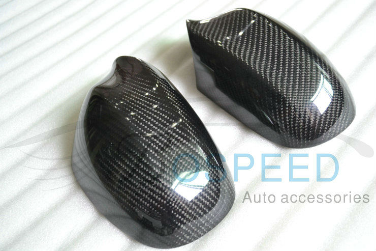 2009-2012 Carbon Fiber Rearview Side Mirror Cover For BMW E90