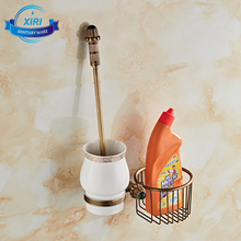 royal wall mounted toilet brush and ceramic brush holder