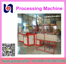 Automatic corrugated steel core machine, kraft paper pipe tube making production line