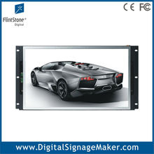 "Flexible 19"" wall-embeded open frame wide screen lcd digital signage"