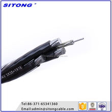 4 core overhead aerial cable xlpe insulated electrical cable