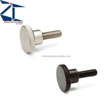 NKRD--Large Diameter Knurled Knobs screw mcmaster