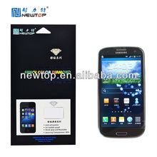 OEM ODM mobile phone fancy diamond screen protector for Samsung galaxy S3 i9300